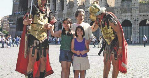tauck-bridges-grandma-gladiators-colosseum