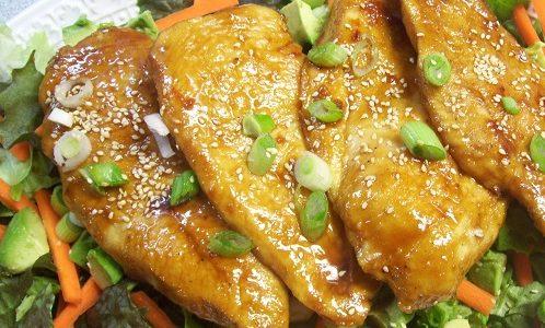 Japan-Ese Chicken Salad